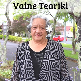 Vaine Teariki website